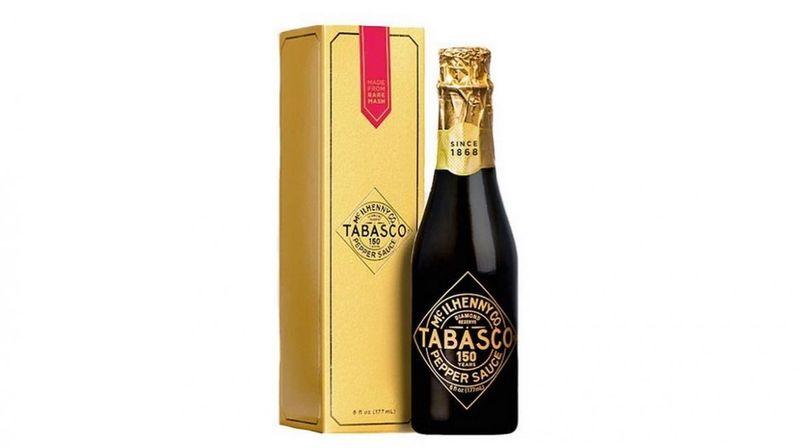 Champagne-Like Hot Sauce Bottles