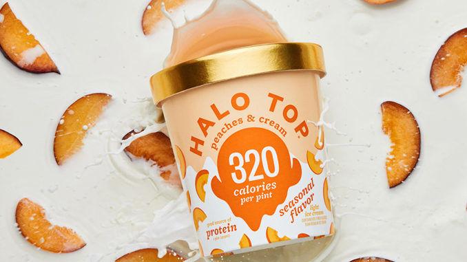 Low-Calorie Peach Ice Cream