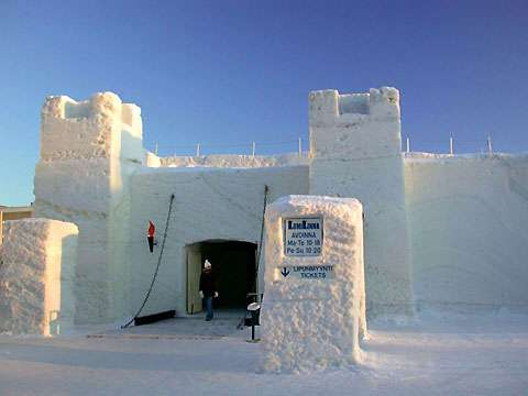 Finland's Snow Castle