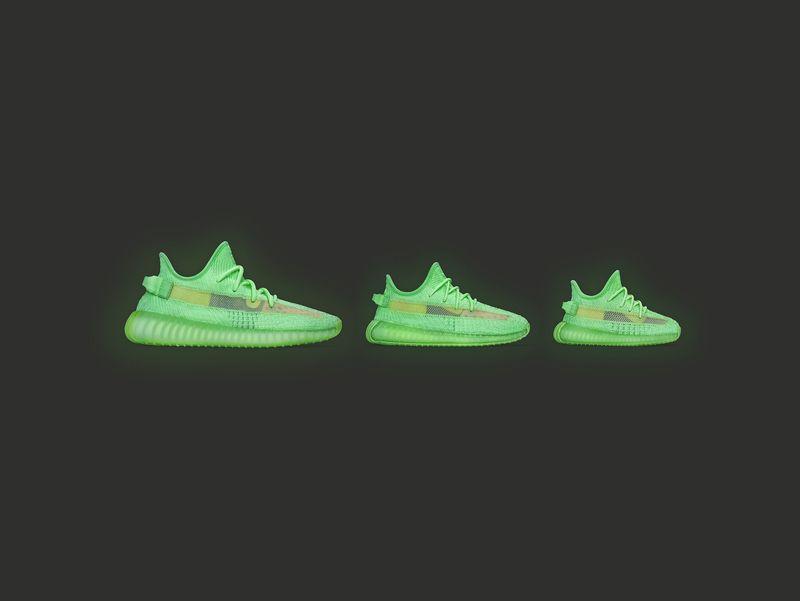 Glowing Cross-Generational Footwear
