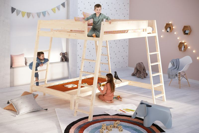 Montessori-Inspired Bunk Beds