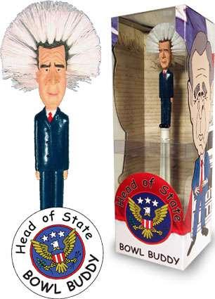 Political Toilet Brushes