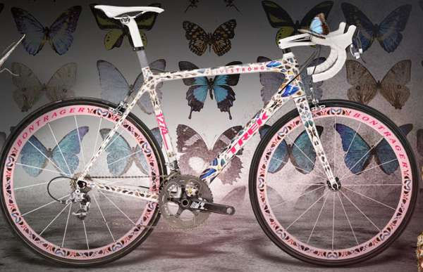 Feminine Graffiti Bikes