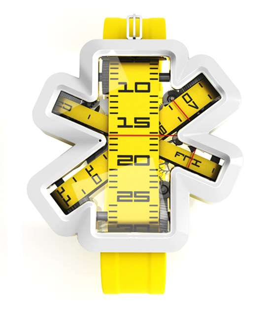 Measuring Tape Timepieces