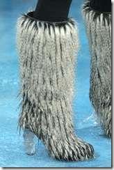 Faux Fur Sasquatch Shoes