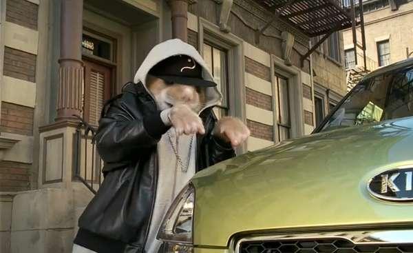 Rodent Rapstar Car Commercials