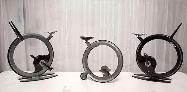 Luxury Minimalist Exercise Bikes