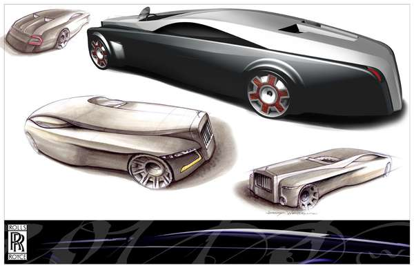 Rolls Royce Renderings