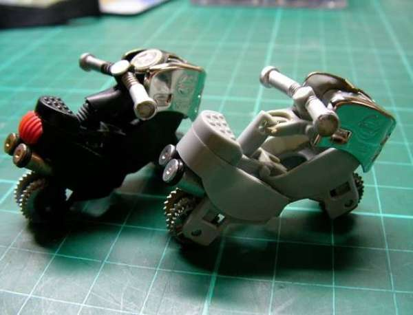 DIY Motorcycle Toys