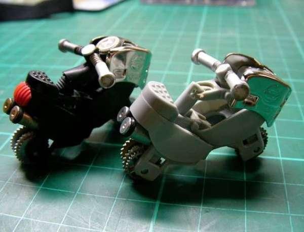 DIY Motorcycle Toys